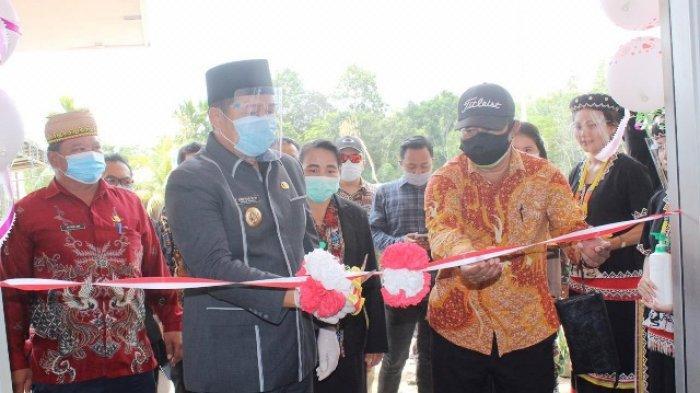 Resmikan Gedung Puskesmas Laham, Bupati Telah Bangun Enam Puskesmas Tiga Berstandar Nasional