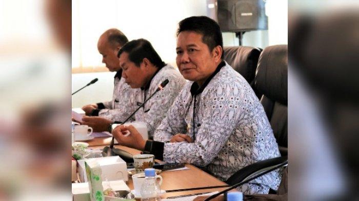 Pimpin Rakor Covid-19, Bupati Apresiasi Petugas Periksa Setiap Orang Luar Masuk Wilayah Mahulu
