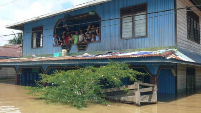 Banjir Bulungan Berstatus Tanggap Darurat