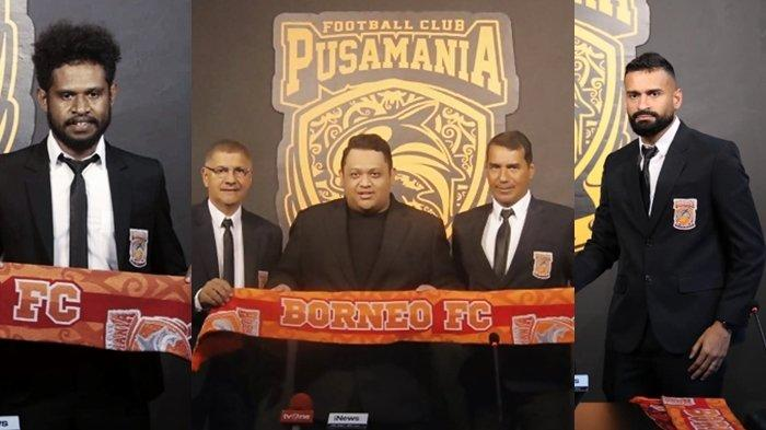 Borneo FC Curi Perhatian, Tampil Elegan saat Perkenalan Pemain dan Pelatih Baru, Sejajar Klub Eropa