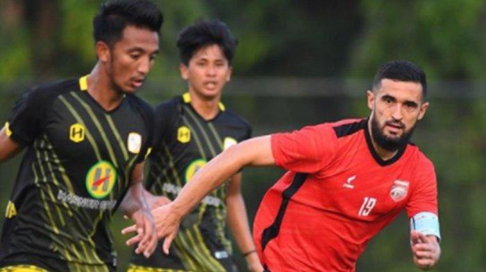 HASIL AKHIR Derby Papadaan Borneo FC vs Barito Putera, Pesut Etam Mantap Tatap Liga 1
