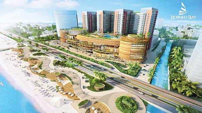 Tatap Ibu Kota Baru, Borneo Bay City Plaza Balikpapan Bakal Bangun Taman Besar, Target Rampung 2021