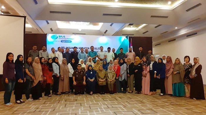 BPJS Ketenagakerjaan Undang 74 Perusahaan, Sosialisasikan Kepatuhan Program