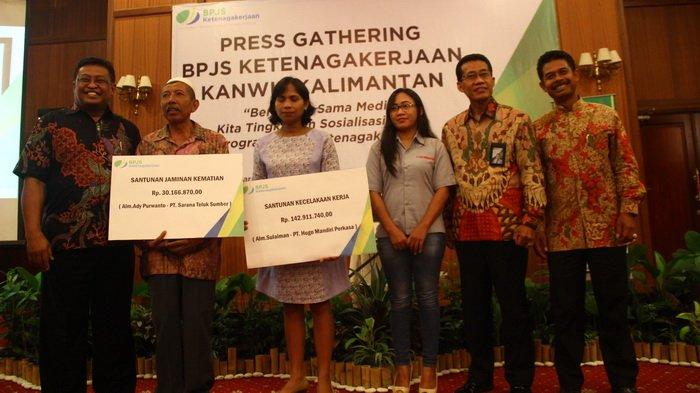 Sosialisasikan Empat Program Jaminannya, BPJS Naker Selipkan Pembayaran Klaim