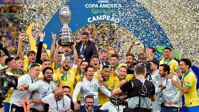 Lengkap, Jadwal Kick Off Copa America 2021, Sempat Penuh Masalah, Neymar dkk Siap Lawan Argentina