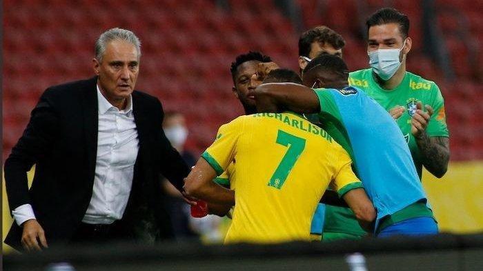 Hasil Kualifikasi Piala Dunia 2021 Brasil vs Ekuador, Pemain Buangan AC Milan Main, Neymar Selamat