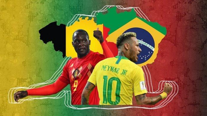 Brasil Vs Belgia, Brasil Dihantui Catatan Buruk, Ini 6 Fakta Penting Jelang Laga