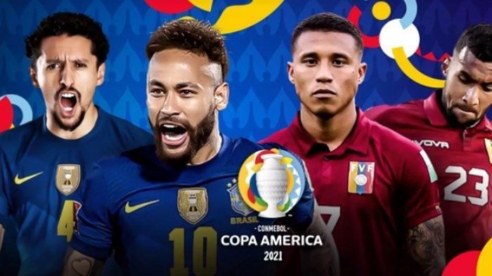 Jadwal Copa America 2021 Lengkap: Laga Pembuka Brasil vs Venezuela, Live Indosiar & Vidio.com