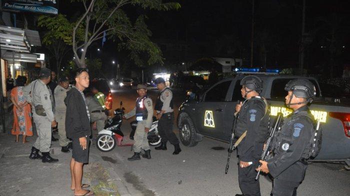 Patroli Brimob dan Polres Balikpapan Gagalkan Aksi Curanmor, Pelaku Kabur, Ini yang Diamankan Polisi