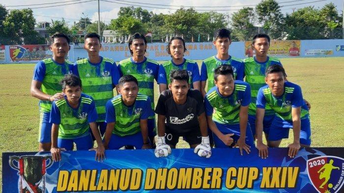 Gol Hattrick Syahdan Antarkan Kemenangan BSU 7-1 atas Arseto di Danlanud Cup