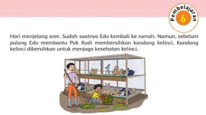 Gambar Edo dan Pak Rudi.