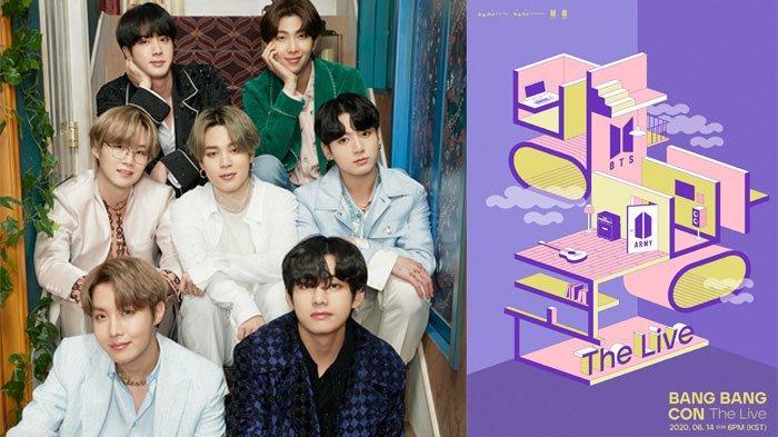 BTS Festa 2020, Konser Online BTS BANG BANG CON The Live 14 Juni Bisa Ditonton dari 6 Sudut Kamera