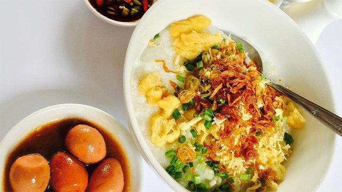 Tempat Makan Bubur Ayam Enak dan Murah Meriah di Surabaya untuk Menu Sarapan Hari ini