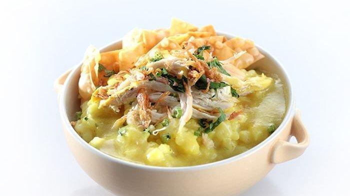 Resep Bubur Ayam Kuning Enak, Kreasi Bubur yang Tampil dengan Warna Berbeda untuk Sarapan Hari Ini