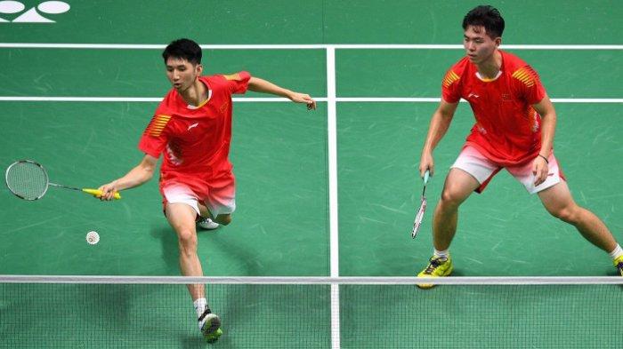 French Open 2018 - Pasangan Muda China Tundukkan Juara Bertahan Ganda Putra