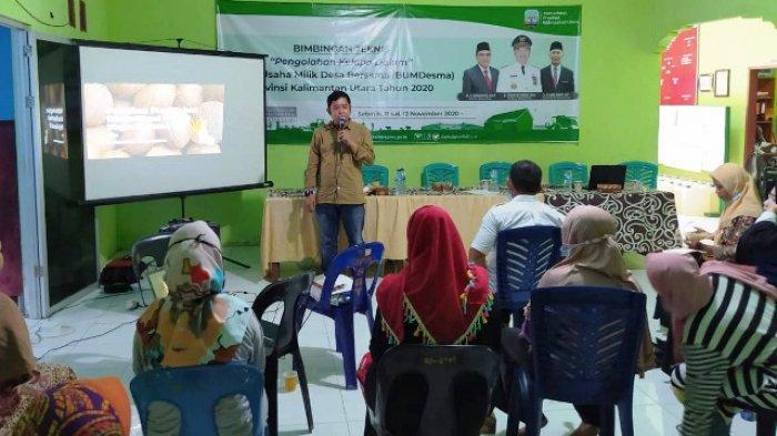 Kembangkan BUMDes di Nunukan, Pengelola Dilatih Cara Olah VCO Jadi Sabun dan Produk Turunan Lainnya