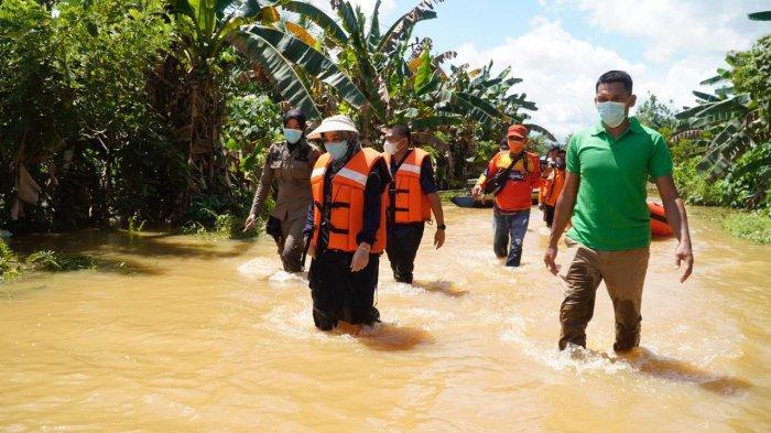 Kondisi Terkini Banjir di Berau, Bupati Sri Juniarsih Sebut akan Fokus Penanganan Pasca Banjir