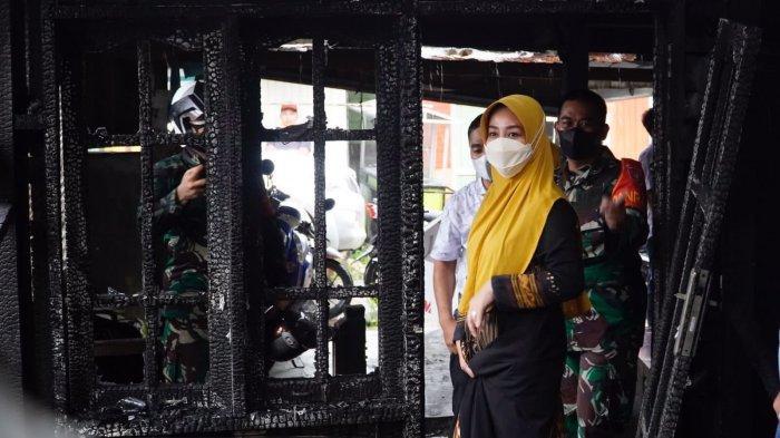 Tinjau Lokasi Kebakaran di Sambaliung, Bupati Berau Tawarkan Korban Tinggal di Rumah Singgah