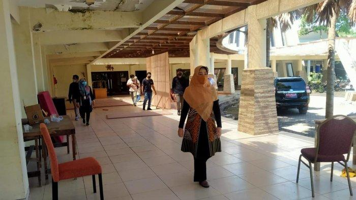 Ruang Terbatas dan Kasus Covid Melonjak, Pemkab Berau akan Maksimalkan RSD Eks Hotel Cantika Swara