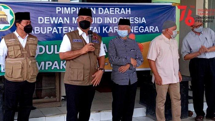 DMI Kukar Salurkan Bantuan untuk Warga Terdampak Covid-19 di Lima Kecamatan