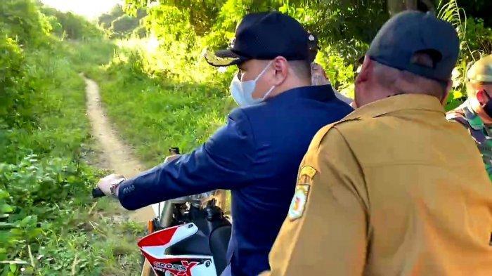 Rusak Parah, Wabup Paser Pastikan Perbaikan Jalan Tanjung Aru-Dusun Ipi Masuk di APBD-P 2021