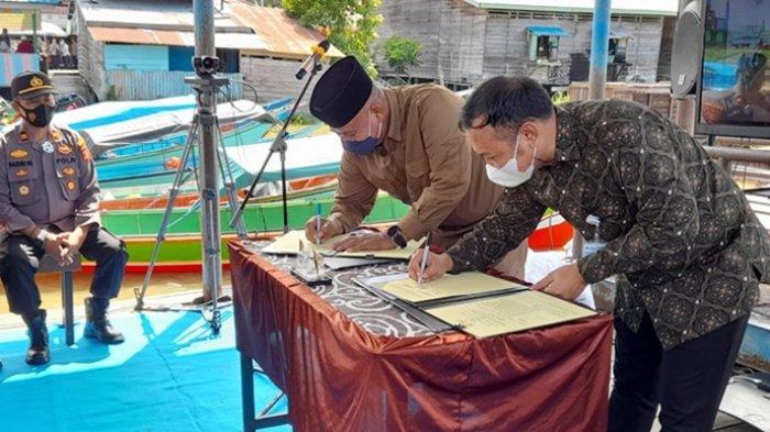 Kerja Sama dengan BPJS Ketenagakerjaan, Pemkab Beri Perlindungan Kerja bagi Aparatur Desa