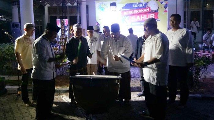 VIDEO - Lomba Bergerakan Sahur di Tenggarong, Kutai Kartanegara, Begini Keseruan Acaranya