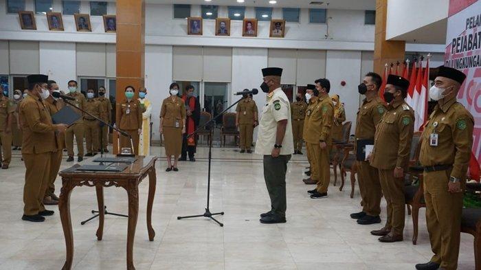 Lantik 217 Pejabat Administrasi dan Pengawas, Bupati: Kerja Sungguh-sungguh dan Ikhlas