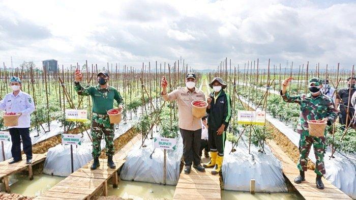 Bupati Bertekad Tingkatkan Produktivitas Pertanian Sekaligus Memudahkan Pemasaran Produk-produknya