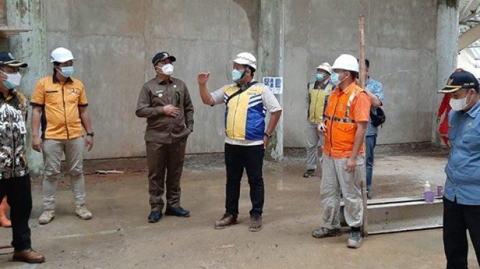 Bupati Tinjau Progres Pembangunan Perkantoran, Tiga Gedung Sudah Mencapai 70 Persen