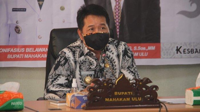 Bupati Mahulu Bonifasius Belawan Geh Dukung Penuh Program Pemerintah Pusat