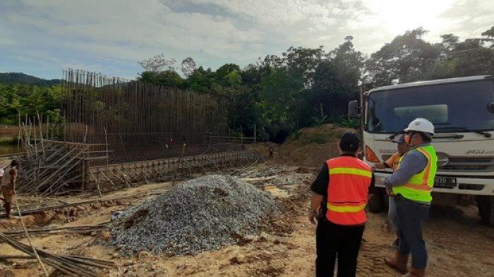Pemkab Mahulu Targetkan Pembangunan Jembatan Long Melaham Selesai April 2021