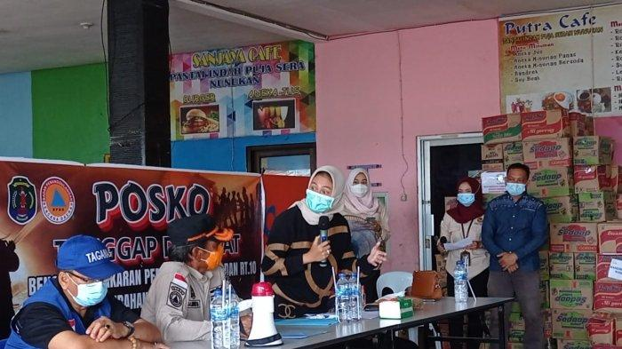 Bupati Nunukan Asmin Laura Tutup Posko Tanggap Darurat Bencana Kebakaran di Inhutani