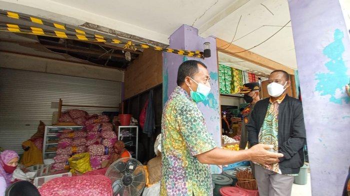 Bupati Syarwani Targetkan Disperindagkop Lakukan Penataan Pasar Induk Tanjung Selor dalam Sebulan
