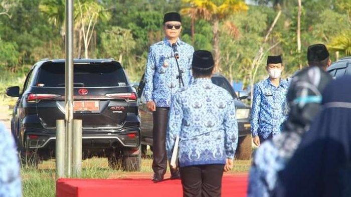 Pimpin Apel Gabungan, Bupati Tana Tidung Ibrahim Ali Ingatkan ASN untuk Tingkatkan Kedisiplinan