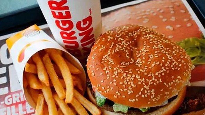 KATALOG PROMO Burger King Minggu 2 Mei 2021, Dapatkan Diskon 50 % hingga Cashback Rp 5.000
