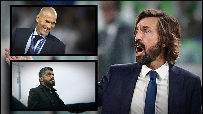 BURSA TRANSFER Liga Italia: Skema Juventus Depak Pirlo Buru Zidane, Legenda AC Milan jadi Alternatif