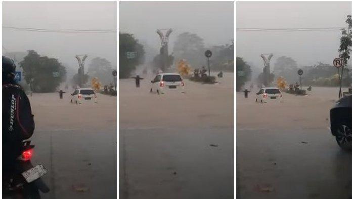 15 Januari Banjir Samarinda Bertambah Melebar, Kini Ada 4 Kecamatan,Sekolah Puskesmas Kena Sasaran