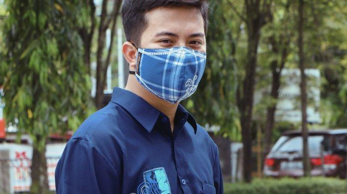 Ayesha Fashion Formal dan Casual, Padupadan Masker Aksen Bordir Etnik Kalimantan