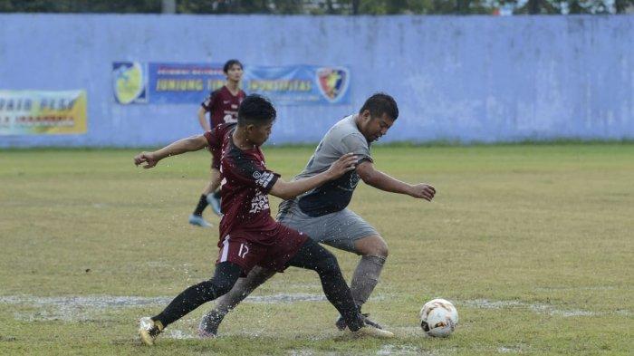 HasilDanlanud Dhomber Cup XXIV Balikpapan,JBB354 vs Guntur Putra Skor 1-1 di Lapangan Bimasakti