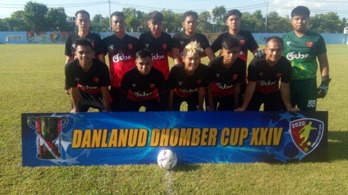 Tumbangkan KPG dengan Skor 2-0, Cabe FC Pimpin Klasemen Sementara Grup E Danlanud Dhomber Cup XXIV