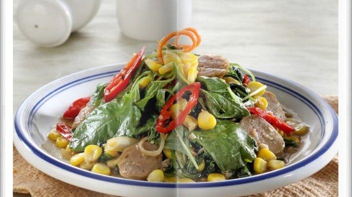 Cara Bikin Cah Bayam Jagung Manis Super Enak, Menu Sederhana untuk Makan Bersama Keluarga