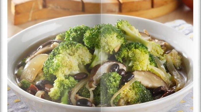 Cara Bikin Cah Brokoli Jamur Hioko Super Enak, Sajian Makan Siang yang Menyehatkan