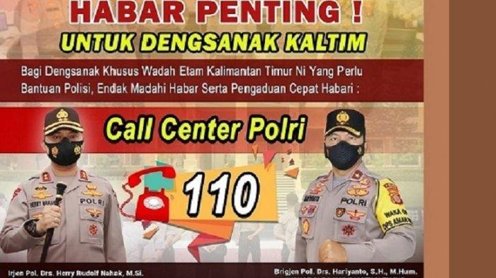 Call Center 110 Percepat Respon Polri Layani Masyarakat