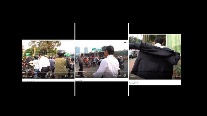 Macet dan Tak Lagi Dikawal, Sandi Terpaksa Jalan Kaki ke Sidang Umum MPR, Pakai Jas Sambil Berjalan