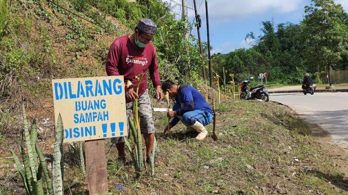 Tiga Kelurahan di Palaran Samarinda Beraksi Bersih-bersih Drainase, Ajak Warga Hidup Sehat