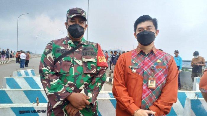 Pembukaan Jembatan Achmad Amins Samarinda, Camat Sambutan Akui Waktu Ditutup Rasanya Terpencil