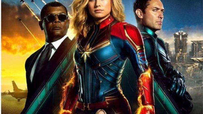 Captain Marvel Tayang Perdana Hari Ini, Cek Jadwal Tayangnya di Bioskop Balikpapan dan Samarinda