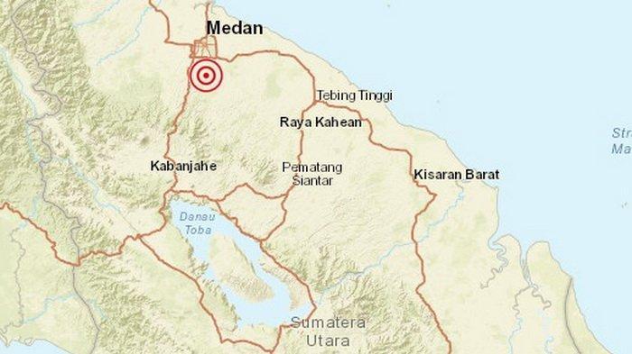 Gempa Hari Ini Rabu 25 September Guncang Sumut, Terasa MMI II-III di Medan, BMKG: Waspada Susulan