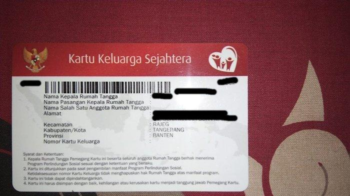 Cara Bikin Kartu Keluarga Sejahtera untuk Dapat Bansos Rp 500.000, LOGIN cekbansos.siks.kemsos.go.id